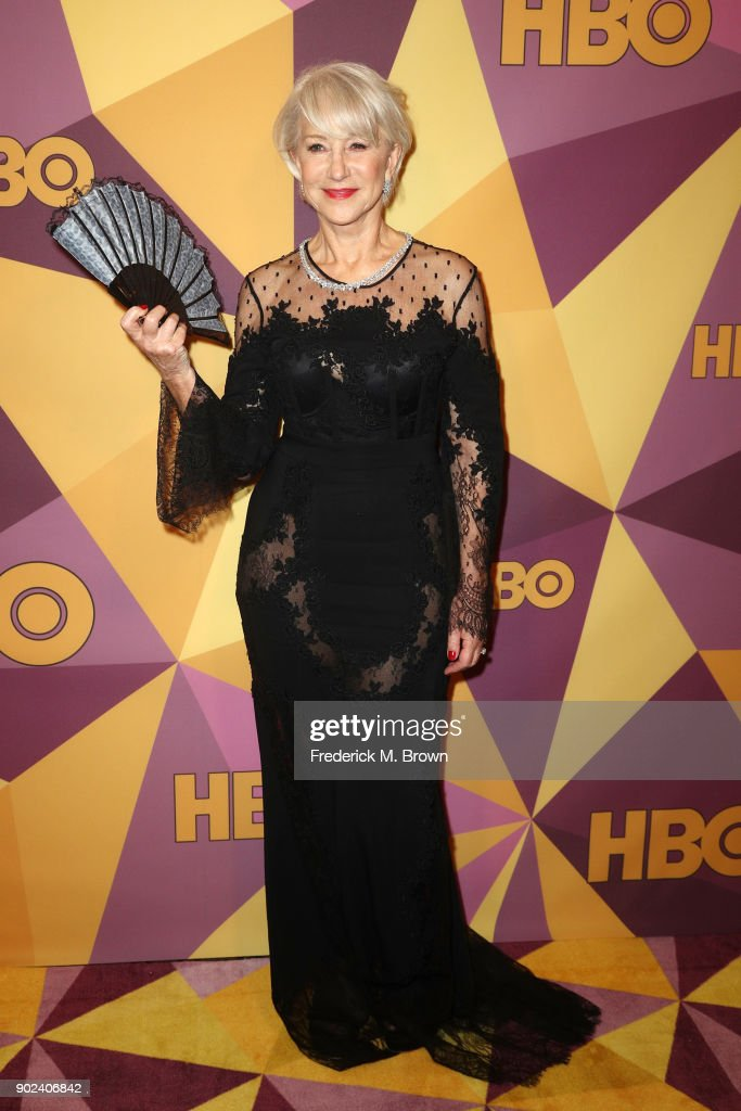 Actor Helen Mirren attends HBO's Official Golden Globe Awards After Party at Circa 55 Restaurant on January 7, 2018 in Los Angeles, California.