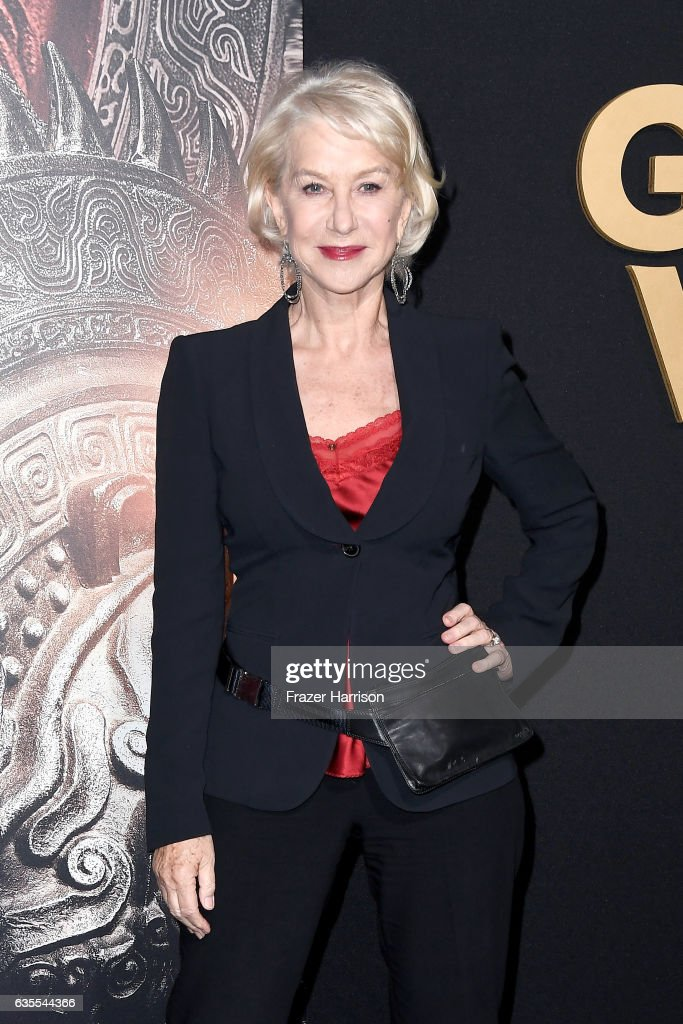 """Premiere Of Universal Pictures' """"The Great Wall"""" - Arrivals : News Photo"""