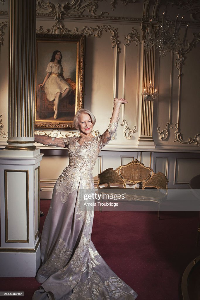 Actor Helen Mirren is photographed for ES magazine on September 8, 2014 in London, England.