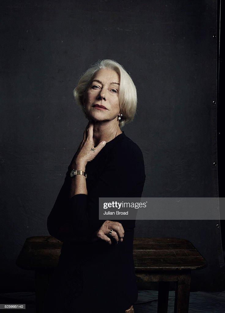 Helen Mirren, Harpers Bazaar UK, February 1, 2016
