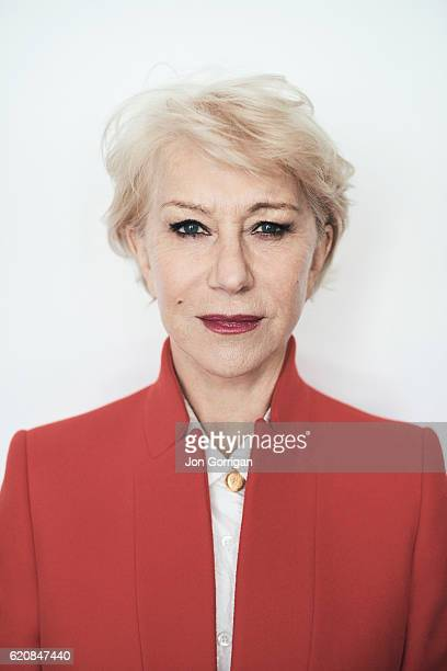 Actor Helen Mirren is photographed for the Observer on May 19 2016 in London England