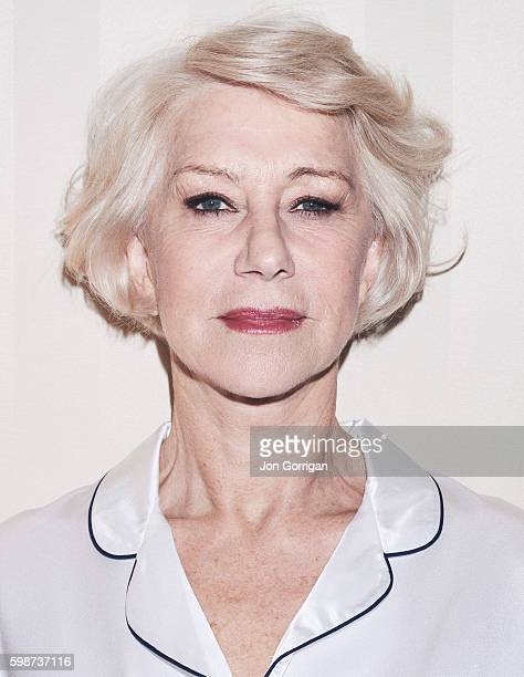 Actor Helen Mirren is photographed for the Telegraph on May 19 2016 in London England