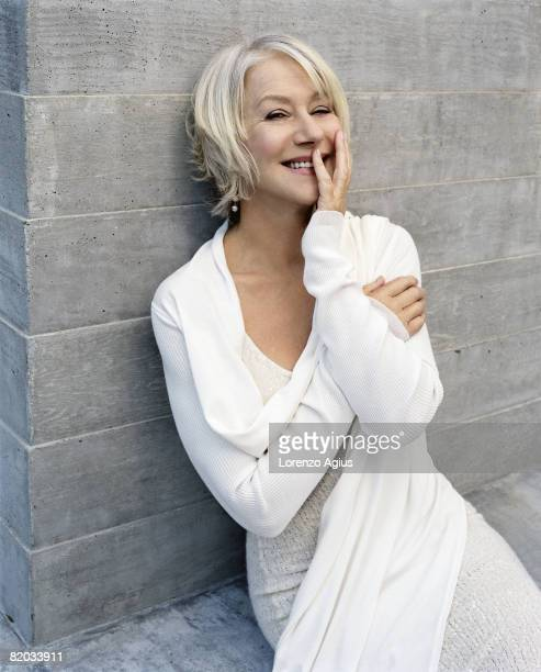 Actor Helen Mirren poses for a portrait shoot for More magazine Los Angeles on September 27 2007