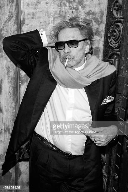 Actor Helmut Berger attends the 10th anniversary celebration of the Zoo Magazine at Naturkundemuseum on October 29 2014 in Berlin Germany