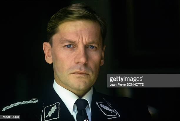 Actor Helmut Berger On The Set of the Movie 'Code Name Emerald' in France on September 18 1984