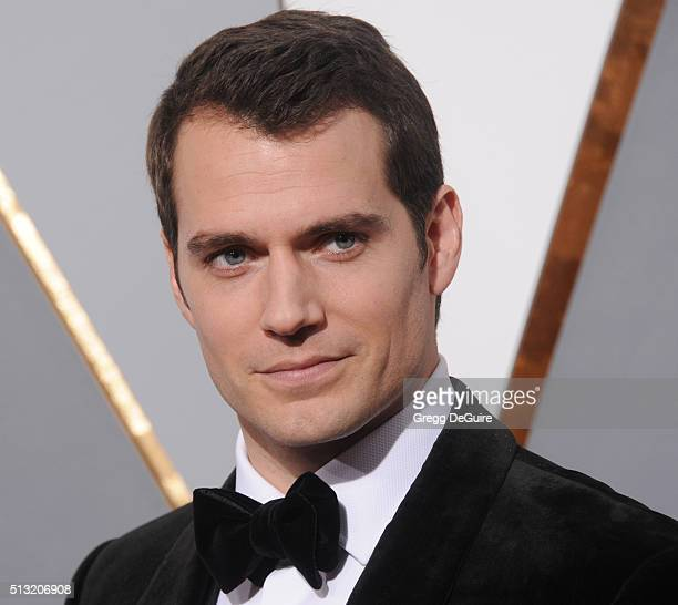 Actor Henry Cavill arrives at the 88th Annual Academy Awards at Hollywood Highland Center on February 28 2016 in Hollywood California