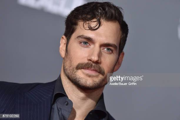 Actor Henry Cavill arrives at the premiere of Warner Bros. Pictures' 'Justice League' at Dolby Theatre on November 13, 2017 in Hollywood, California.