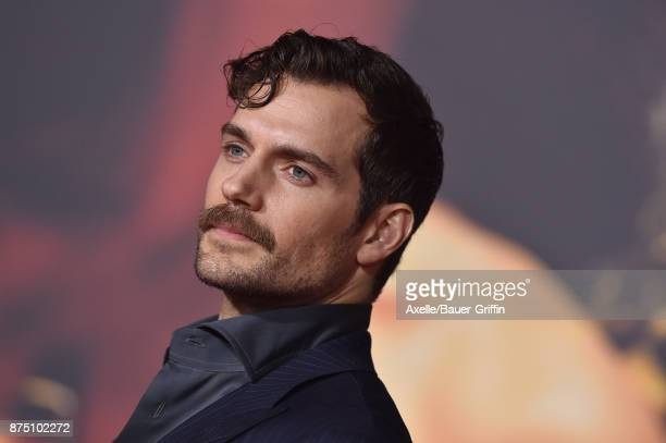 Actor Henry Cavill arrives at the premiere of Warner Bros Pictures' 'Justice League' at Dolby Theatre on November 13 2017 in Hollywood California