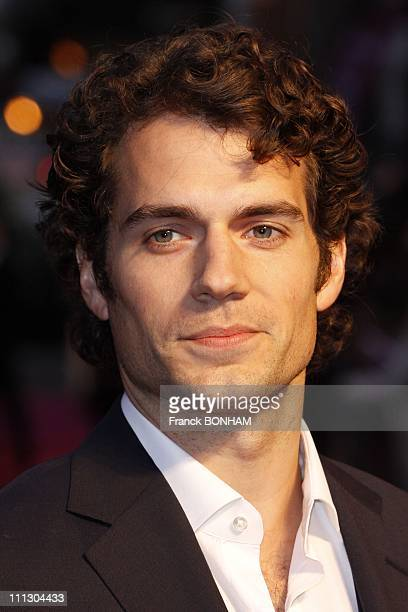 Actor Henry Cavill arrives at the UK Premiere of Sucker Punch at Vue West End on March 30 2011 in London England