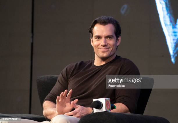 "Actor Henry Cavill attends a panel for Netflix's ""The Witcher"" Season 1 during the 12th edition of Argentina Comic Con on December 07, 2019 in Buenos..."