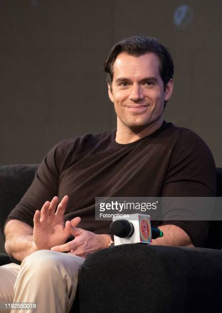 Actor Henry Cavill attends a panel for Netflix's The Witcher Season 1 during the 12th edition of Argentina Comic Con on December 07 2019 in Buenos...