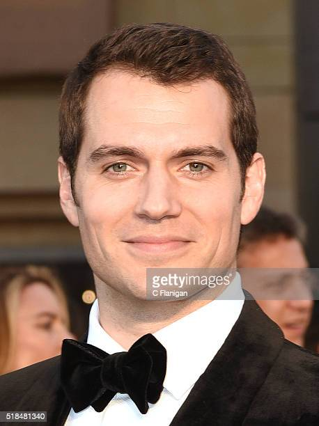 Actor Henry Cavill attends the 88th Annual Academy Awards at the Hollywood Highland Center on February 28 2016 in Hollywood California