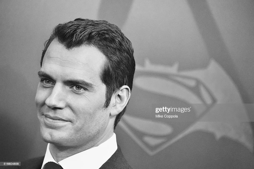 Actor Henry Cavill attends The 'Batman V Superman: Dawn Of Justice' New York Premiere at Radio City Music Hall on March 20, 2016 in New York City.