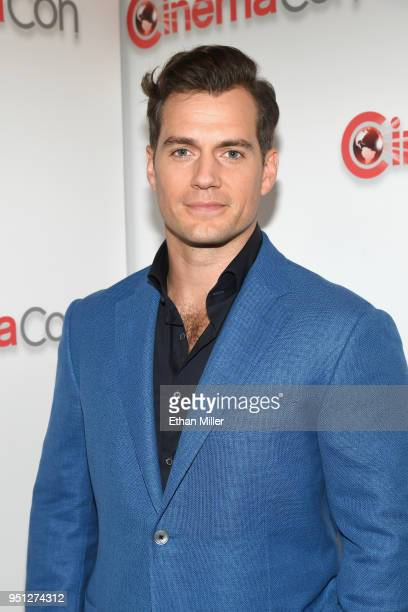 Actor Henry Cavill attends the CinemaCon 2018 Paramount Pictures Presentation Highlighting Its Summer of 2018 and Beyond at The Colosseum at Caesars...