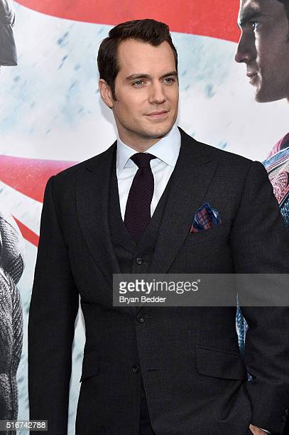 Actor Henry Cavill attends the launch of Bai Superteas at the 'Batman v Superman Dawn of Justice' premiere on March 20 2016 in New York City