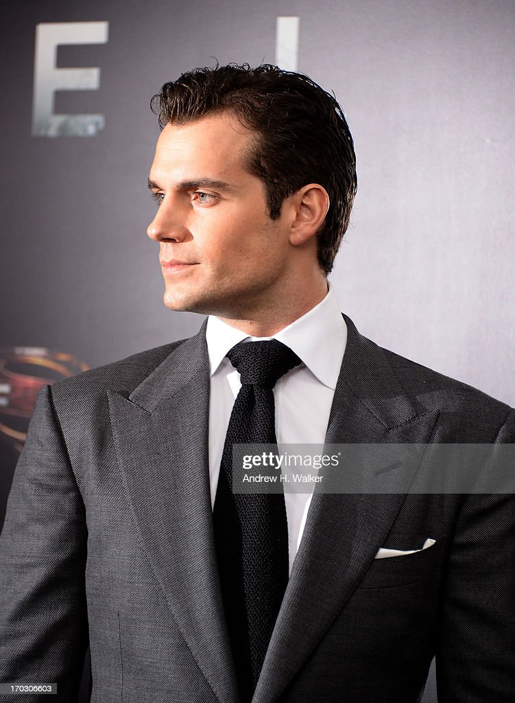 Actor Henry Cavill attends the 'Man Of Steel' world premiere at Alice Tully Hall at Lincoln Center on June 10, 2013 in New York City.