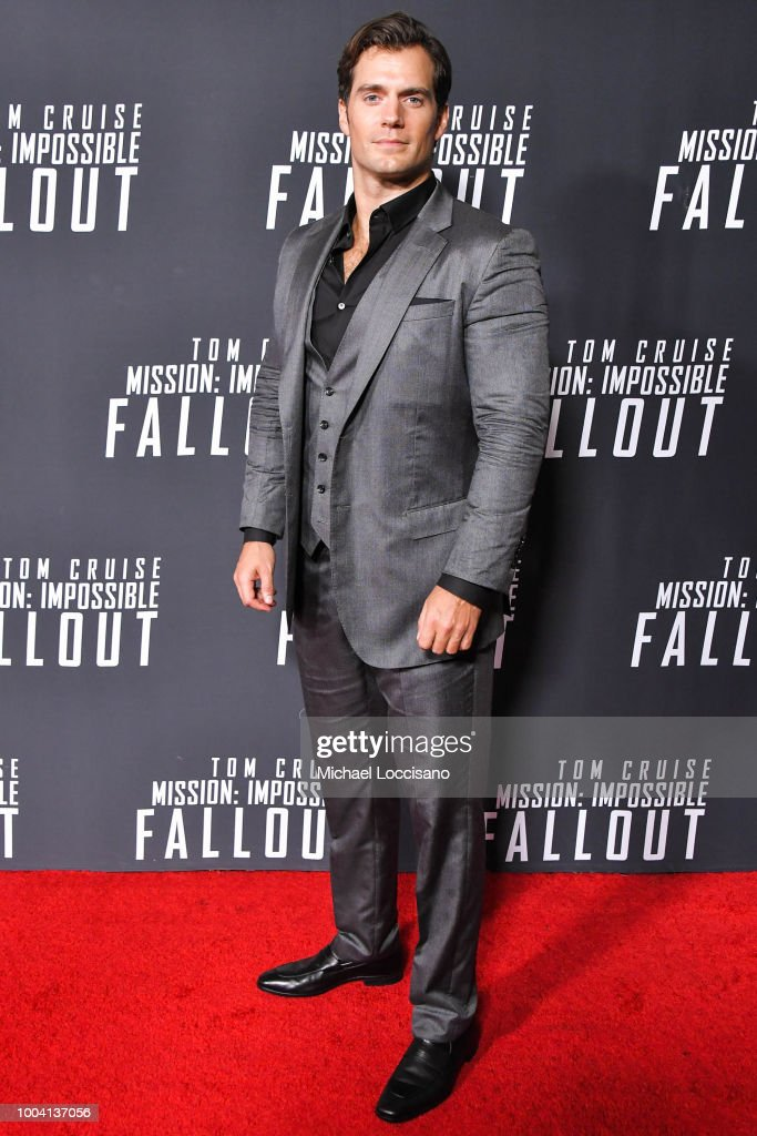 Actor Henry Cavill attends the 'Mission: Impossible - Fallout' US Premiere at Lockheed Martin IMAX Theater at the Smithsonian National Air & Space Museum on July 22, 2018 in Washington, DC.