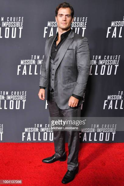 Actor Henry Cavill attends the 'Mission: Impossible - Fallout' US Premiere at Lockheed Martin IMAX Theater at the Smithsonian National Air & Space...
