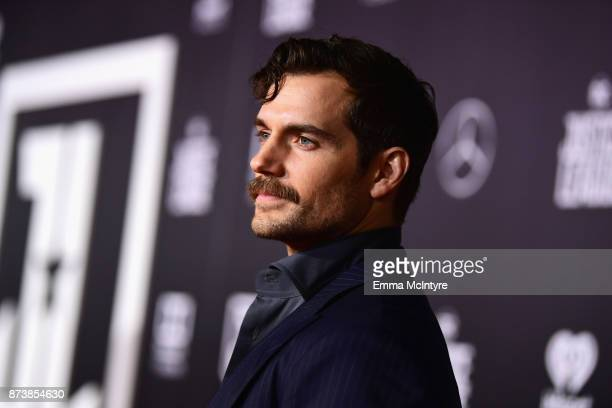 Actor Henry Cavill attends the premiere of Warner Bros Pictures' 'Justice League' at Dolby Theatre on November 13 2017 in Hollywood California