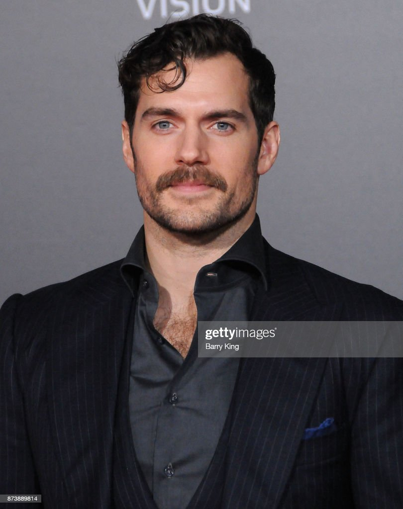 Actor Henry Cavill attends the premiere of Warner Bros. Pictures' 'Justice League' at Dolby Theatre on November 13, 2017 in Hollywood, California.