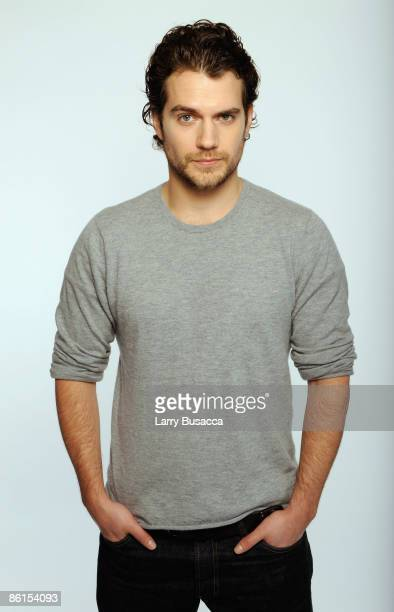 Actor Henry Cavill attends the Tribeca Film Festival 2009 portrait studio at DIRECTV Tribeca Press Center on April 22, 2009 in New York City.