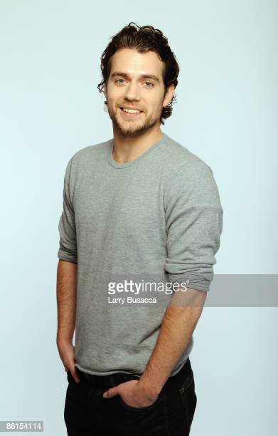 Actor Henry Cavill attends the Tribeca Film Festival 2009 portrait studio at DIRECTV Tribeca Press Center on April 22 2009 in New York City