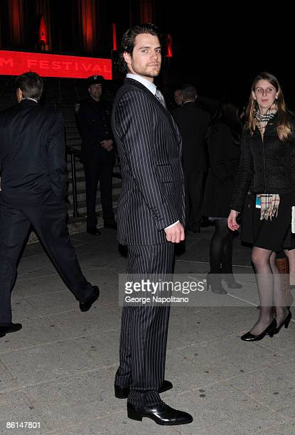 Actor Henry Cavill attends the Vanity Fair Party during the 8th Annual Tribeca Film Festival at the State Supreme Courthouse on April 21 2009 in New...