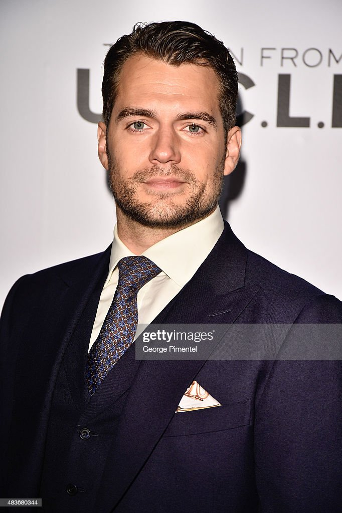 Actor Henry Cavill attends Warner Bros. Pictures Canada and Audi Canada host a private cocktail reception for the Canadian premiere of 'The Man From U.N.C.L.E.' at Shangri-La Hotel on August 11, 2015 in Toronto, Canada.