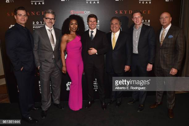 Actor Henry Cavill Director/writer/producer Christopher McQuarrie actors Angela Bassett Tom Cruise Chairman CEO Paramount Pictures Jim Gianopulos CEO...