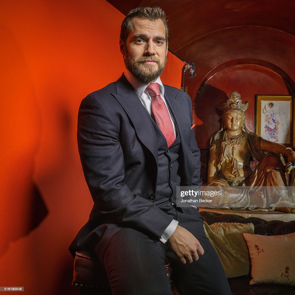 Actor Henry Cavill is photographed at the Charles Finch and Chanel's Pre-BAFTA on February 7, 2015 in London, England. PUBLISHED