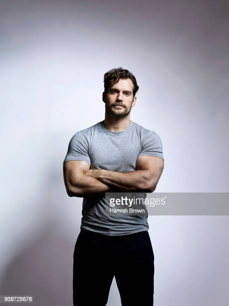 Actor Henry Cavill is photographed for Men's Health magazine on August 24 2017 in London England