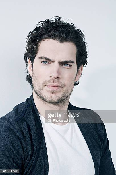 Actor Henry Cavill is photographed for Upstreet magazine on April 8 2009 in London England