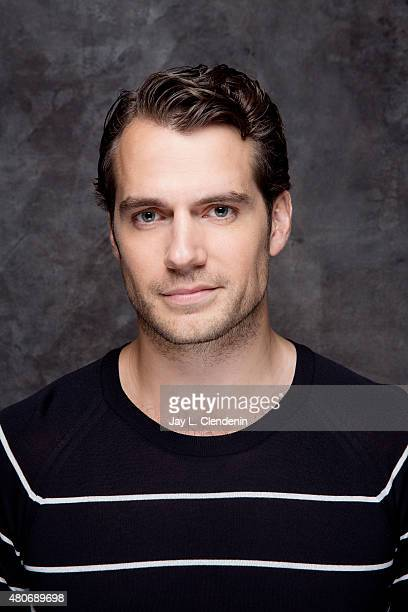 Actor Henry Cavill of 'The Man from UNCLE'poses for a portrait at ComicCon International 2015 for Los Angeles Times on July 9 2015 in San Diego...