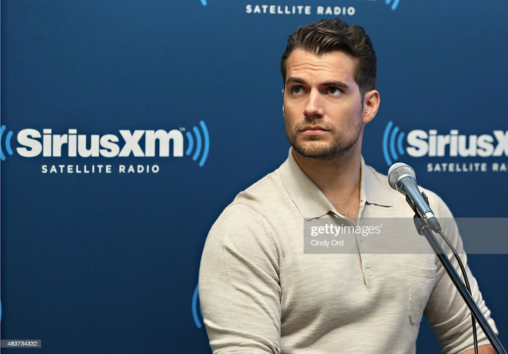 SiriusXM's Town Hall With Guy Ritchie, Henry Cavill, Armie Hammer And Lionel Wigram : News Photo