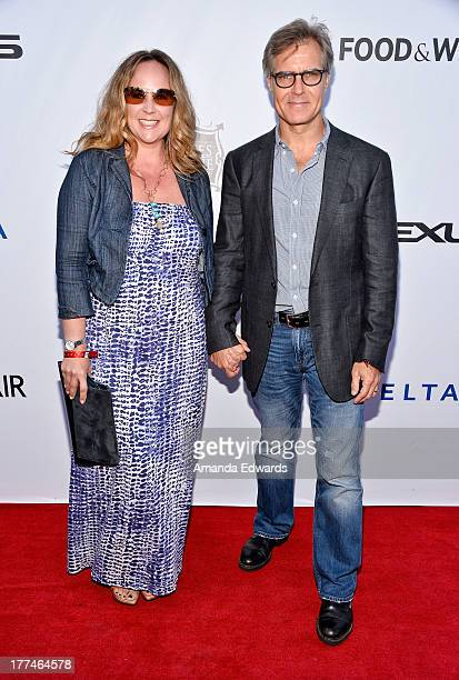 Actor Henry Czerny and his wife Claudine Cassidy arrive at the opening night of the 2013 Los Angeles Food Wine Festival Festa Italiana With Giada De...