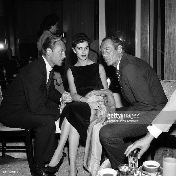 Actor Henry Fonda attends a party in his honor in Los Angeles, California.