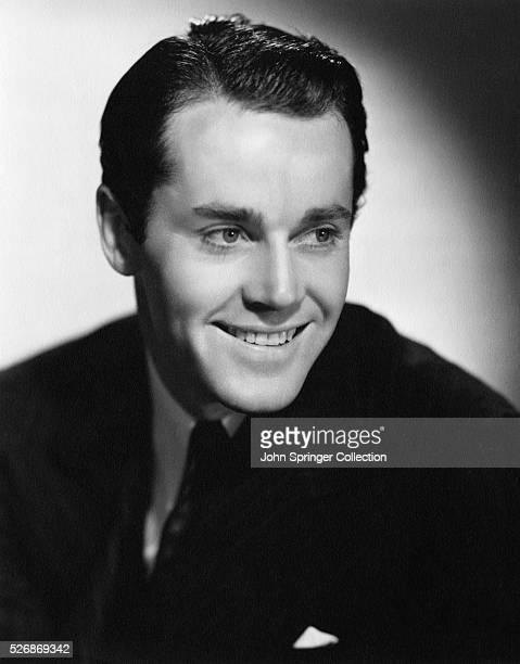 Actor Henry Fonda Smiling