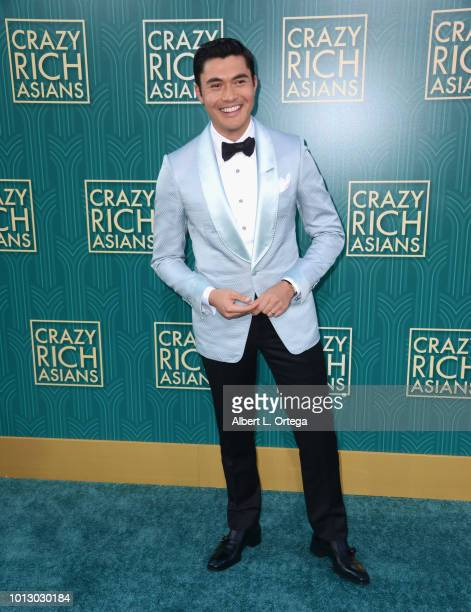 Actor Henry Golding arrives for Warner Bros Pictures' Crazy Rich Asians Premiere held at TCL Chinese Theatre IMAX on August 7 2018 in Hollywood...