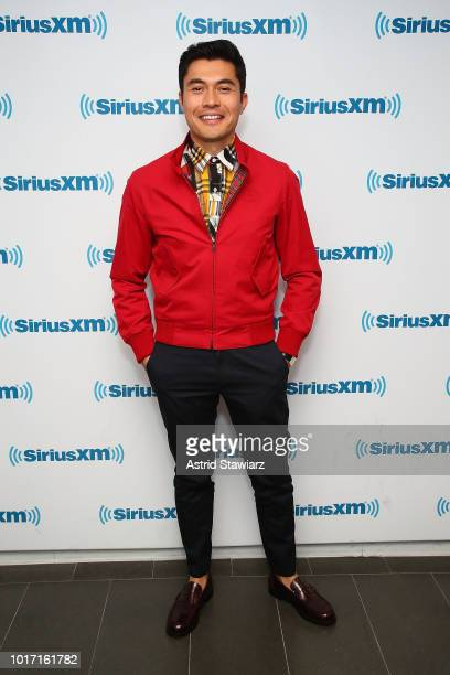 Actor Henry Golding attends SiriusXM's Entertainment Weekly Radio Spotlight With The Cast Of 'Crazy Rich Asians' on August 15 2018 in New York City
