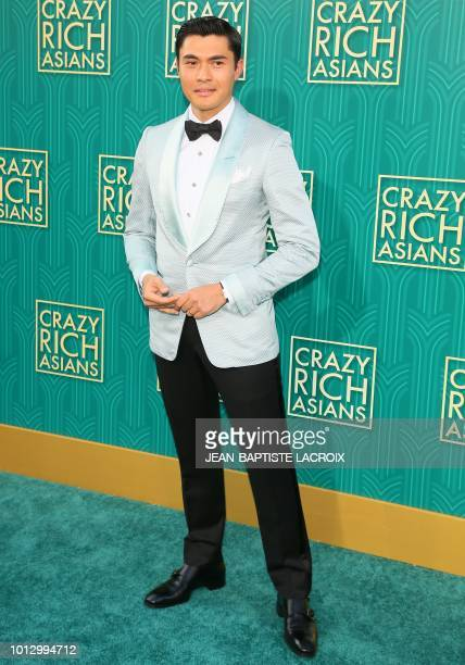 Actor Henry Golding attends the premiere of Warner Bros Pictures' 'Crazy Rich Asians' in Hollywood California on August 7 2018