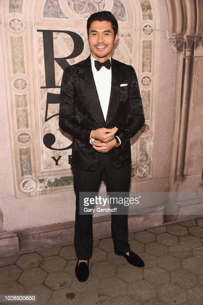 Actor Henry Golding attends the Ralph Lauren 50th Anniversary event during New York Fashion Week at Bethesda Terrace on September 7 2018 in New York...