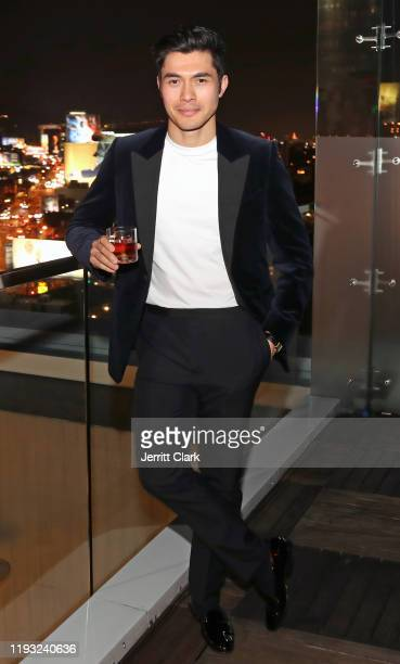 "Actor Henry Golding Hennessy's Prestige Rare Cognac Collection ambassador attends the brand's ""Greatness is an Odyssey"" content series premiere..."