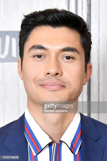 Actor Henry Golding visits Build to discuss the movie Crazy Rich Asians at Build Studio on August 14 2018 in New York City