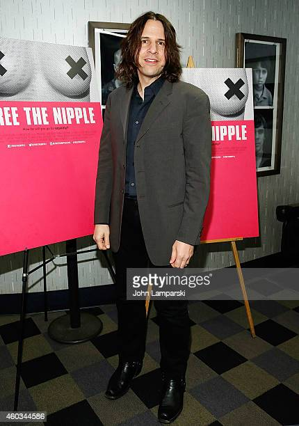 Actor Henry Hey attends Free The Nipple New York Premiere at IFC Center on December 11 2014 in New York City
