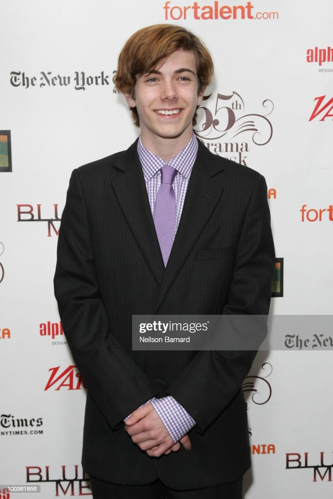Actor Henry Hodges arrives at the 55th Annual Drama Desk Awards at FH LaGuardia Concert Hall at Lincoln Center on May 23, 2010 in New York City.