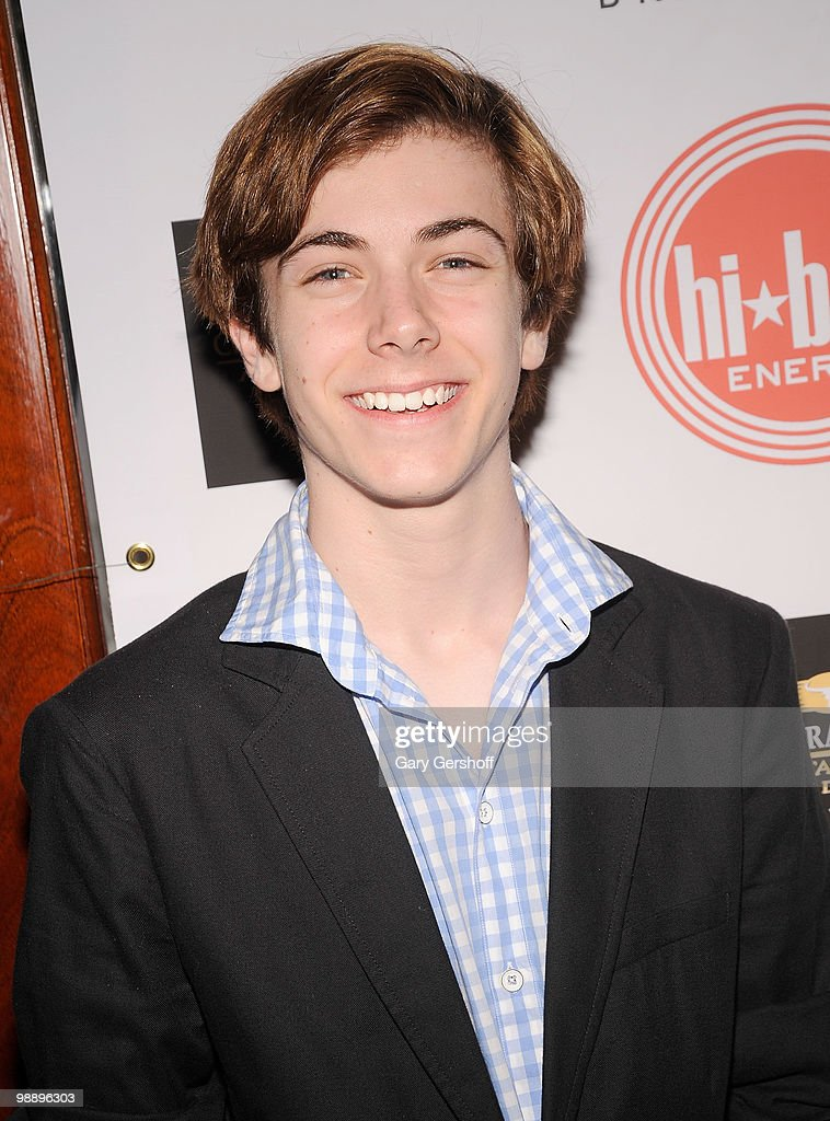 Actor Henry Hodges attends the 2010 Drama Desk Award nominees cocktail reception at Churrascaria Plataforma on May 6, 2010 in New York City.