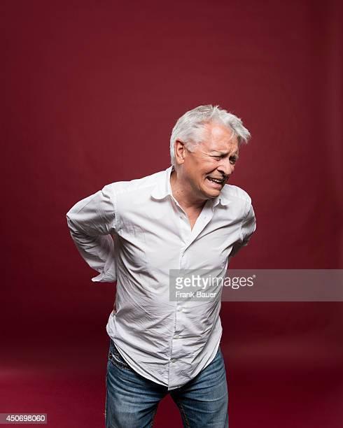 Actor Henry Hubchen is photographed for Sueddeutsche Zeitung magazine on September 17 2013 in Munich Germany