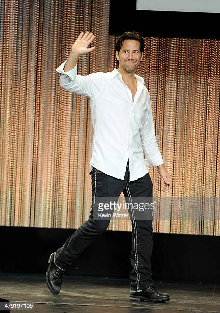"""Actor Henry Ian Cusick appears onstage at The Paley Center Media's PaleyFest 2014 Honoring """"Lost"""" 10th Anniversary Reunion at the Dolby Theatre on..."""