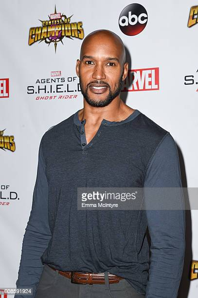 Actor Henry Simmons attends the premiere of ABC's 'Agents of Shield' Season 4 at Pacific Theatre at The Grove on September 19 2016 in Los Angeles...
