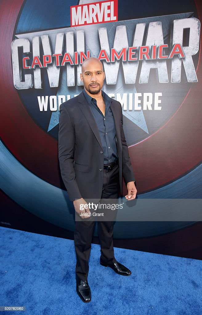 Actor Henry Simmons attends The World Premiere of Marvel's 'Captain America: Civil War' at Dolby Theatre on April 12, 2016 in Los Angeles, California.